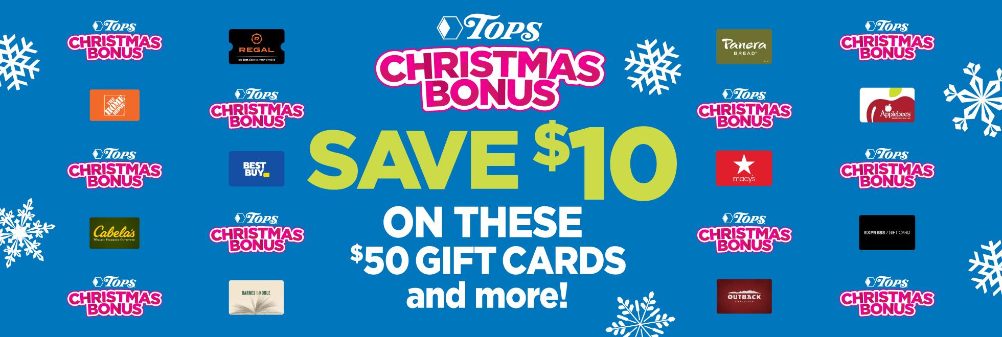 Christmas Bonuss
