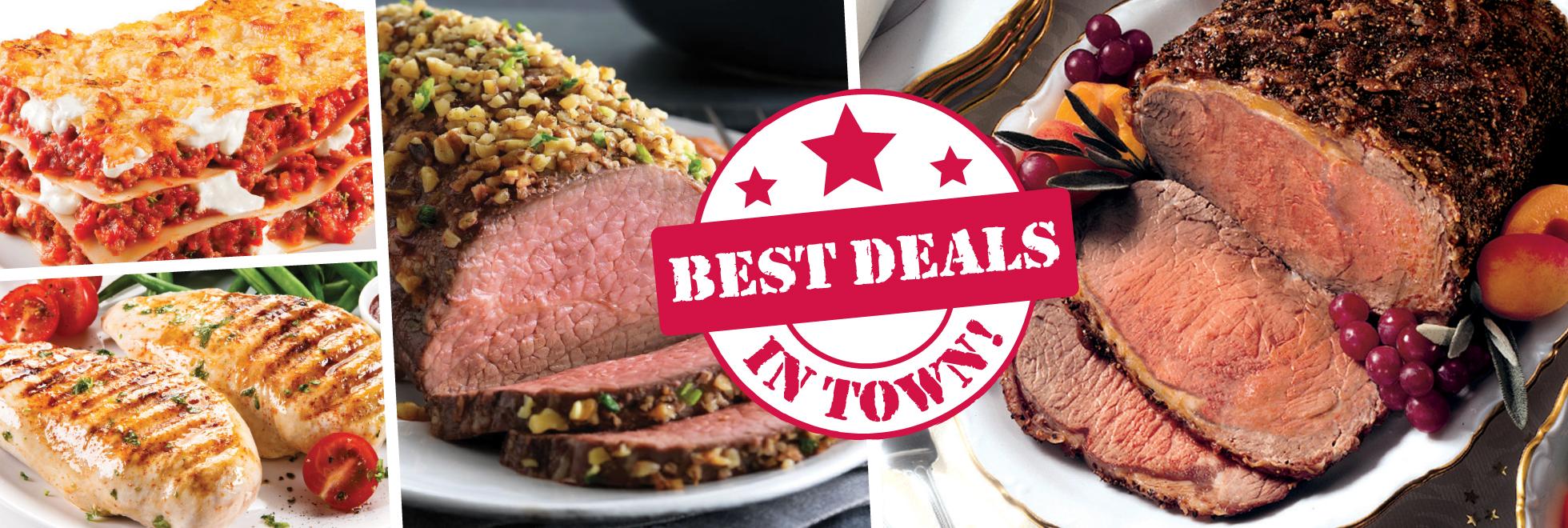 Best Deals in Town on Meats