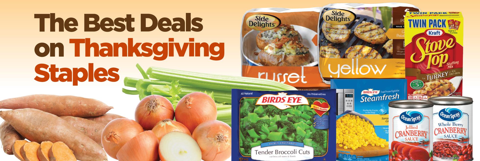 Best Deals in Town Thanksgiving Favorites