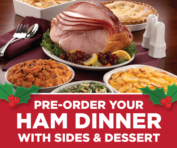 Tops Prepared Holiday Dinners