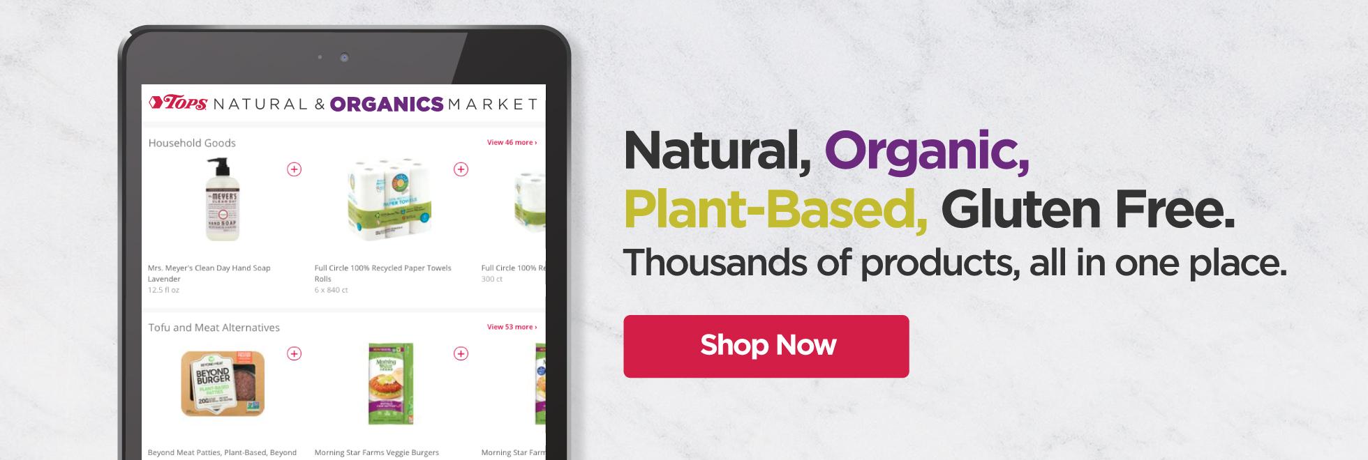 Tops Natural and Organics Market