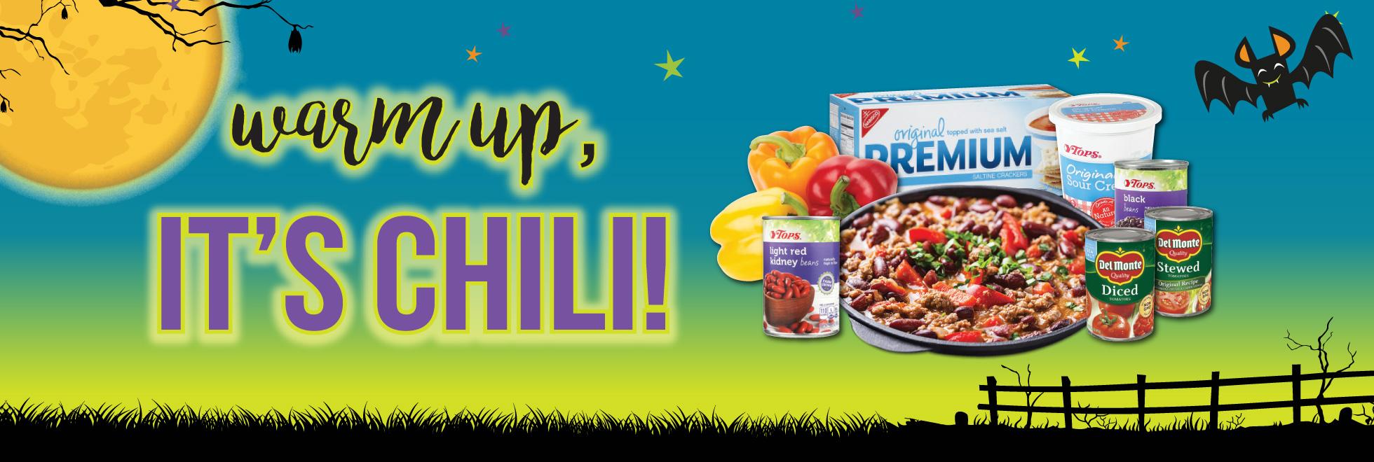 Warm up It's Chili