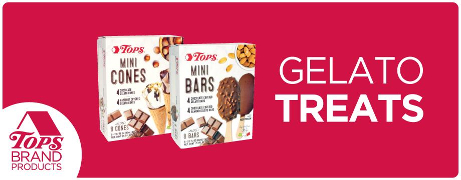TOPS Brand Gelato Treats