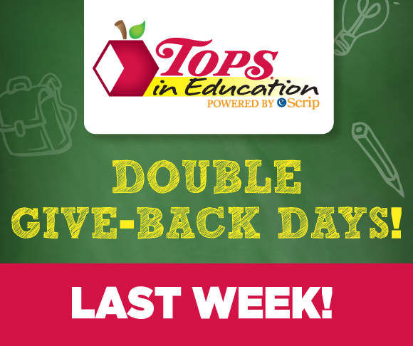 Double Give Back Days Final Week