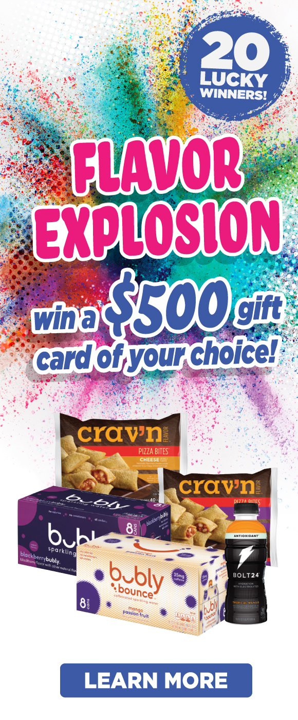 Flavor Explosion Sweepstakes