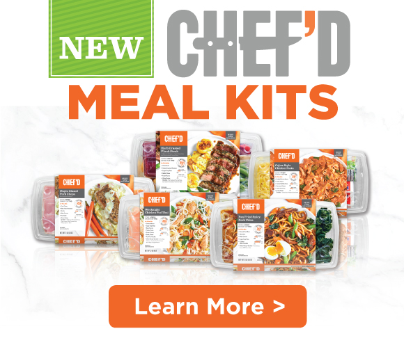 Chef'd Meal Kits