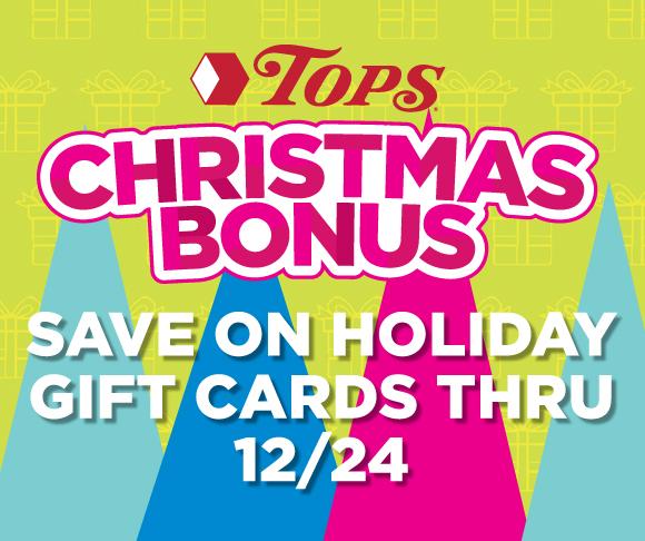 TOPS Christmas Bonus