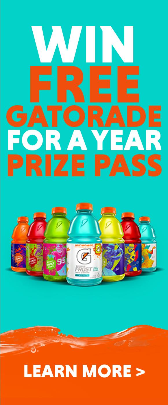 Gatorade Prize Pass