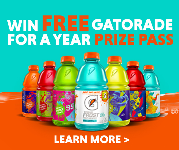 Gatorade Prize Pass