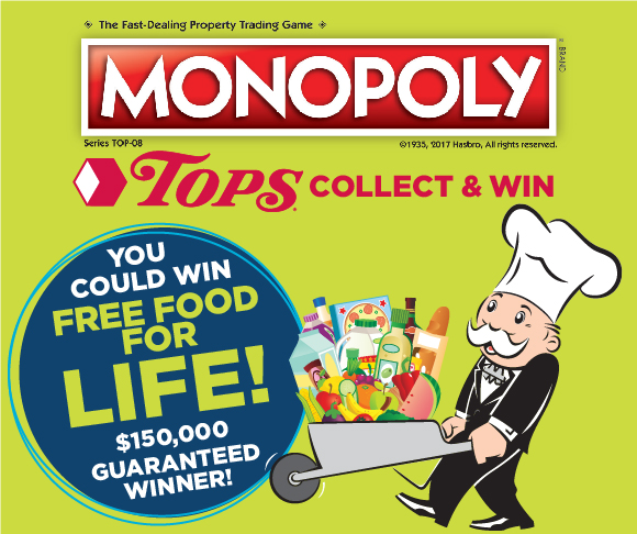 Monopoly Collect & Win Is Back