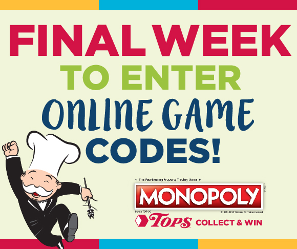 Monopoly Last Week To Enter