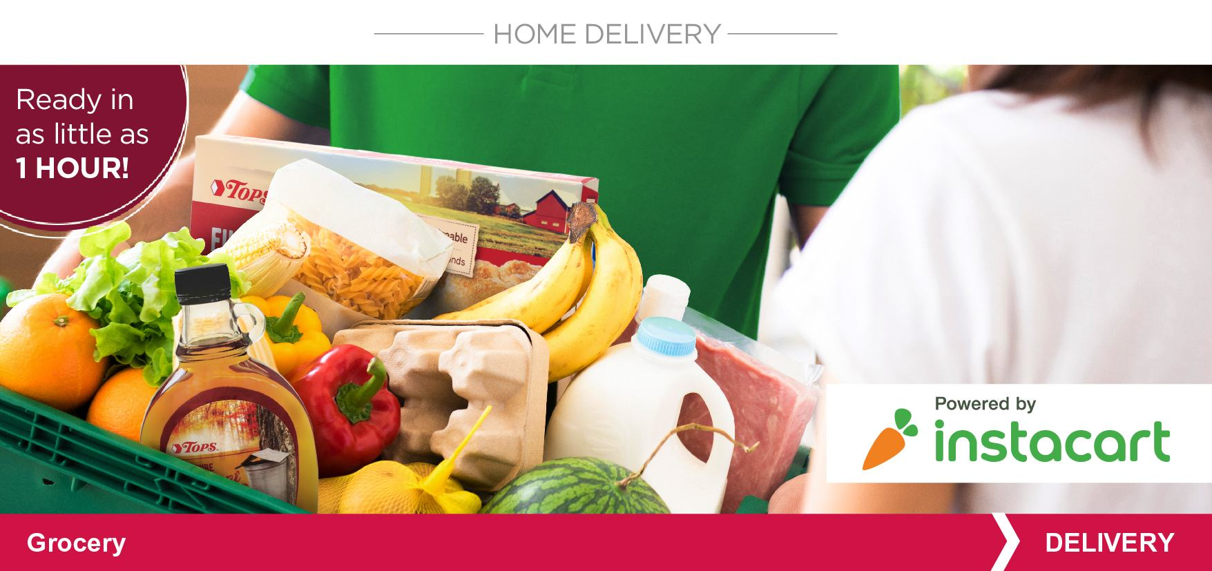 Home Delivery Powered by Instacart