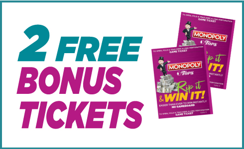 Two Free Bonus Tickets