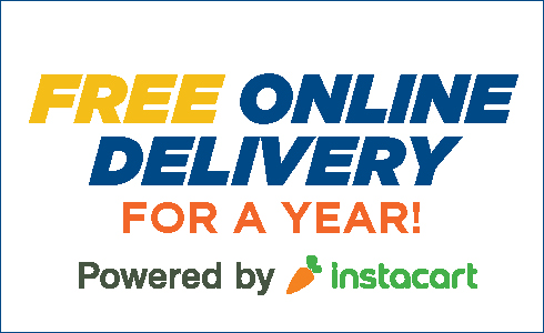 Instacart delivery for a year