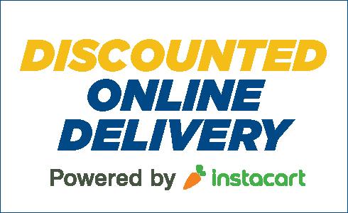 Instacart delivery discounts