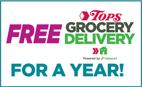 Free Tops Grocery Delivery for a year