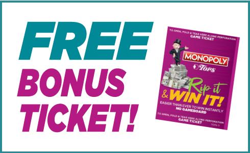 Free Bonus Ticket