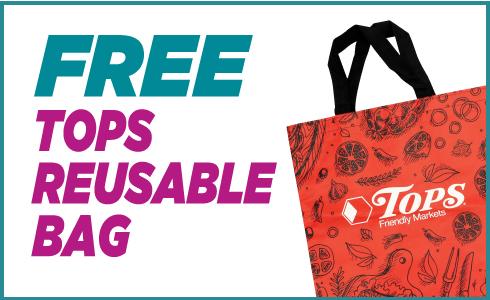 Free TOPS Reusable Bag