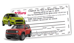 2nd Chance Sweeps Ticket