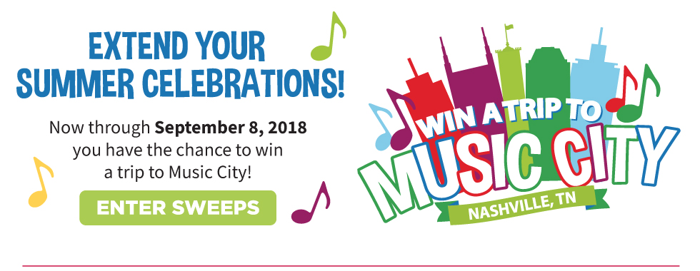 TOPS Music City Sweepstakes