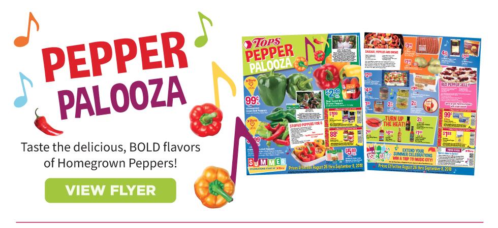 TOPS Pepper Palooza
