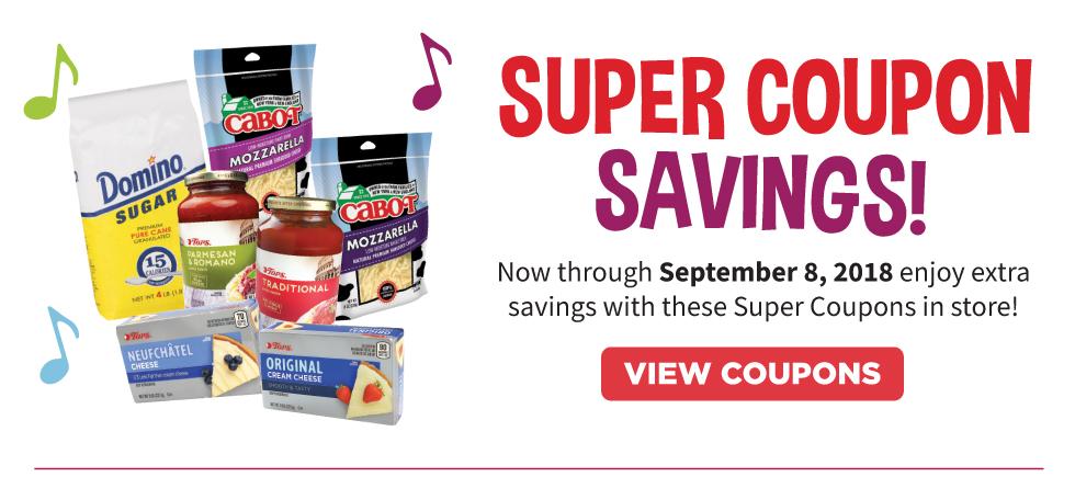 TOPS Super Coupon Savings