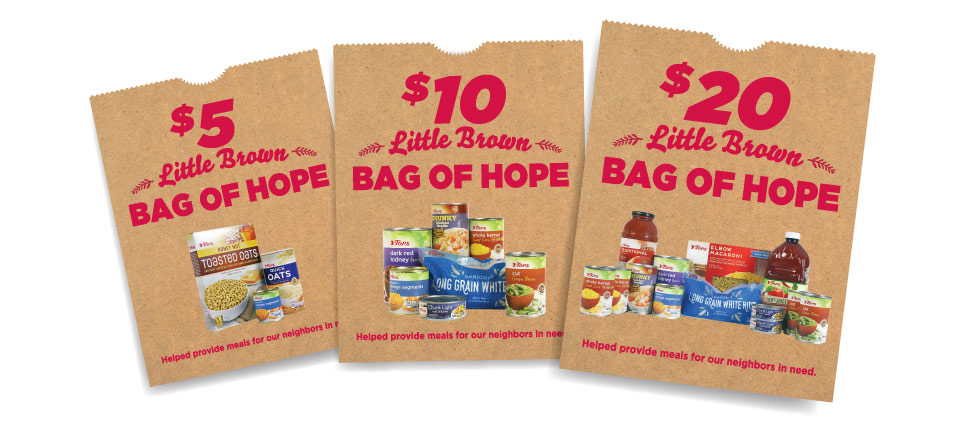 Little Brown Bags of Hope