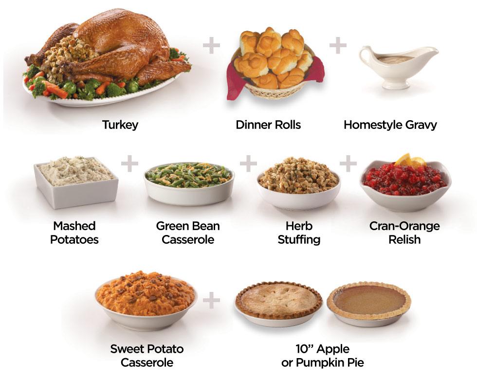 Fresh Turkey Dinner
