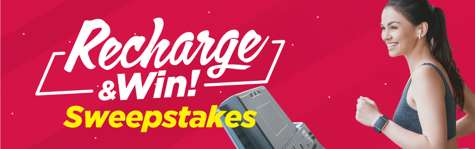 Recharge and Win Sweepstakes