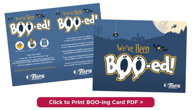 Boo-ing Card
