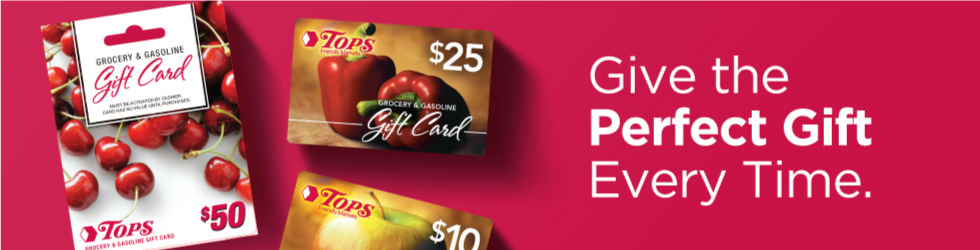 Tops Gift Card Ordering