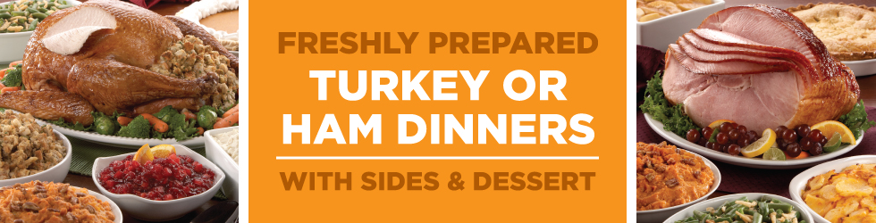Holiday Dinners Header