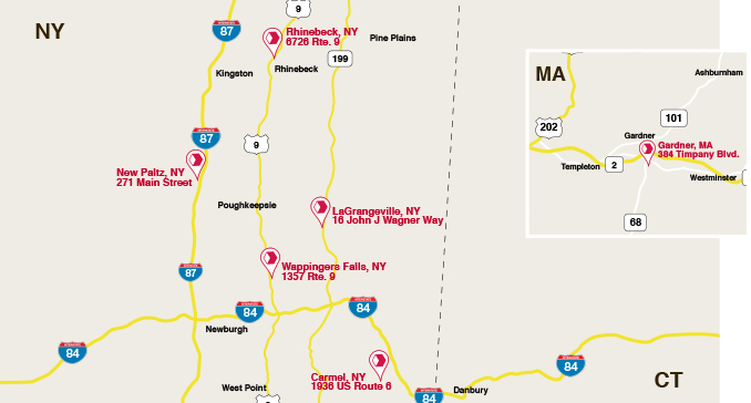 New Stores Map