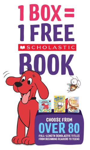 1 Box = 1 Free Scholastic Book