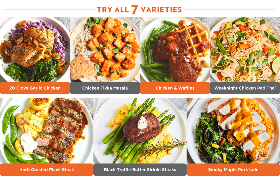 Try All 7 Varieties Today