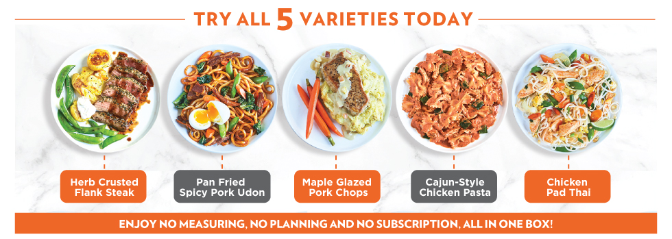 Try All 5 Varieties Today