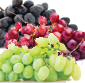 Picture of Red, Green or Black Seedless Grapes